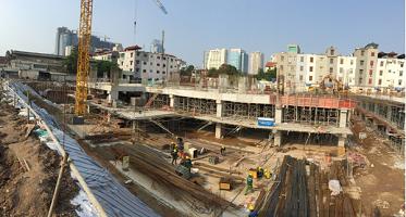 Một số hình ảnh công trường dự án Imperia Garden – cập nhật ngày 30.9.2015